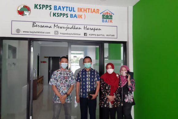 Kunjungan Bidang Kelembagaan ke KSPPS Baytul Ikhtiar Kota Bogor