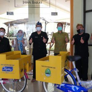 Joyday serahkan Sepeda bagi UMKM