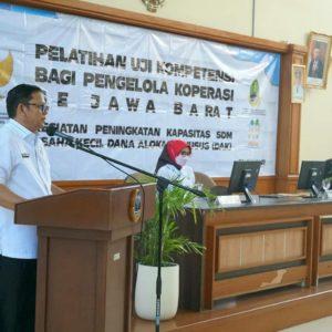 Pelatihan Uji Kompetensi bagi Pengelola Koperasi Jawa Barat
